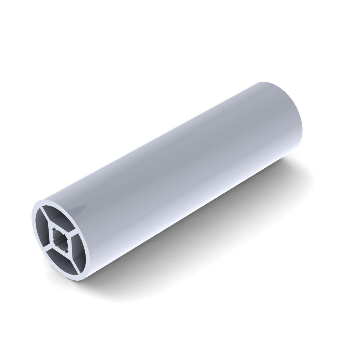 aluminiowy profil okragly 28 mm