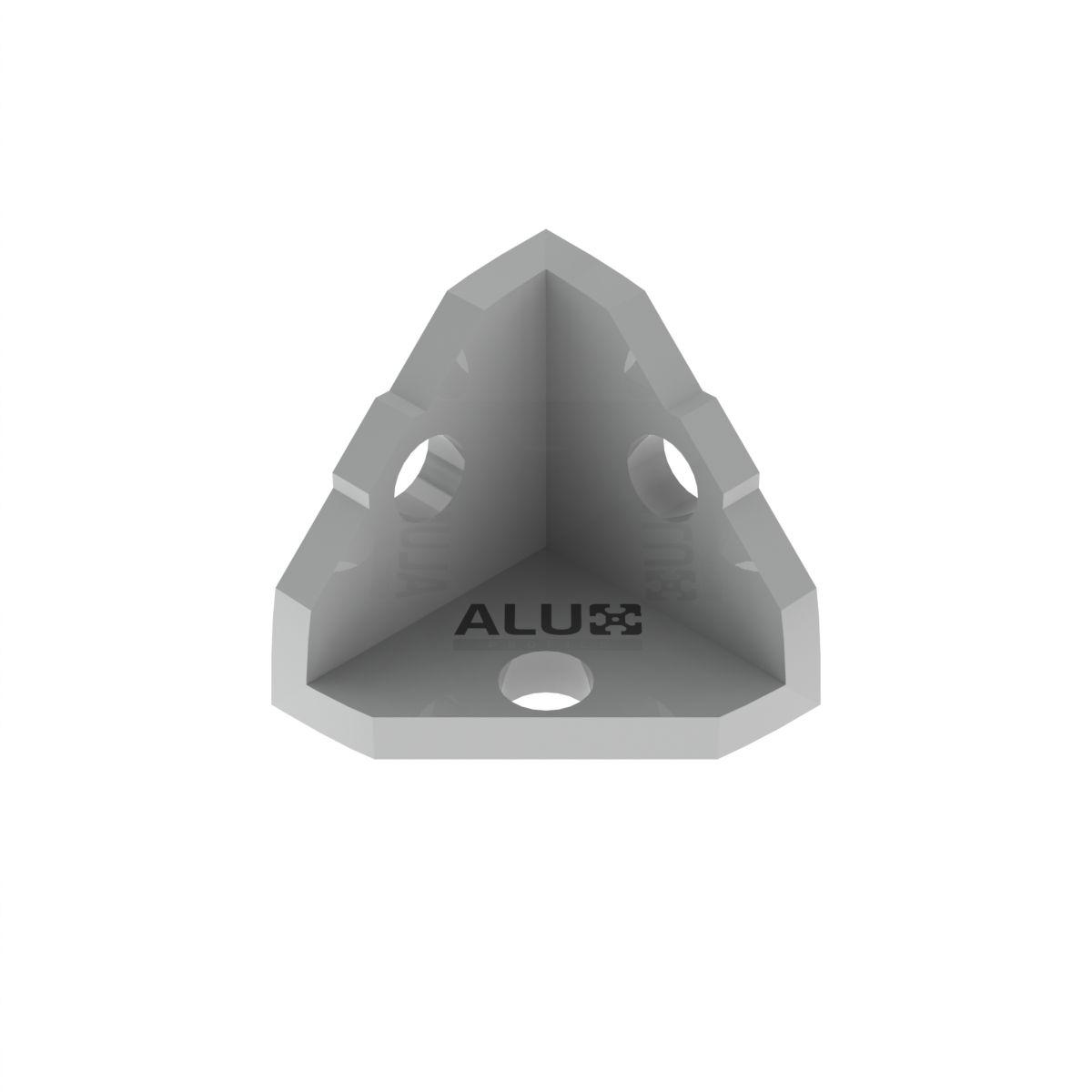 lacznik aluminiowy trzy katowy