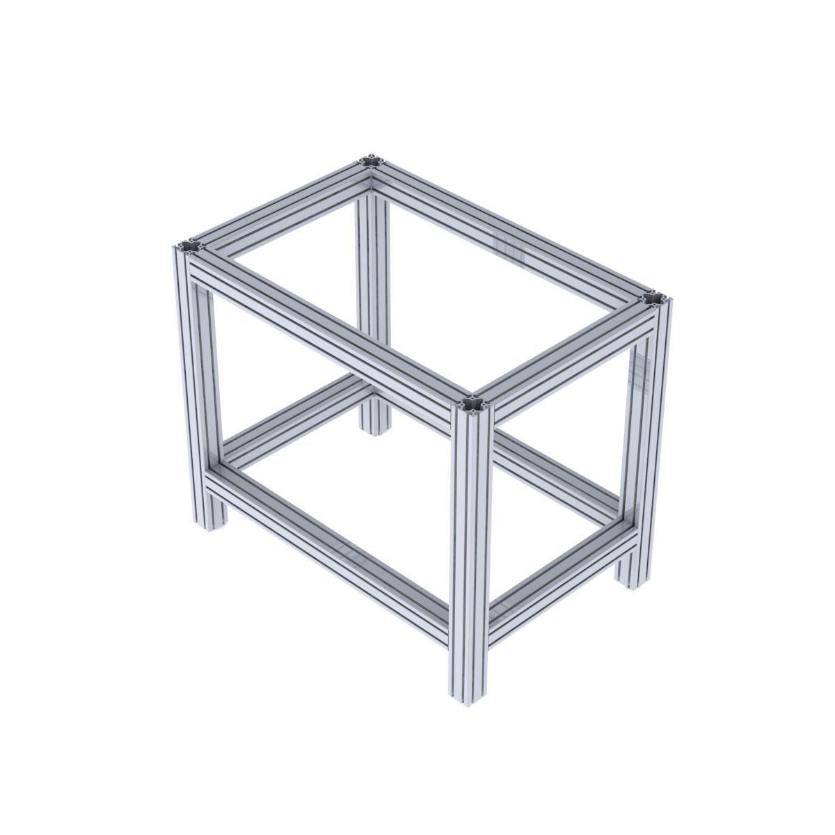 rama maszyny z profili aluminiowych