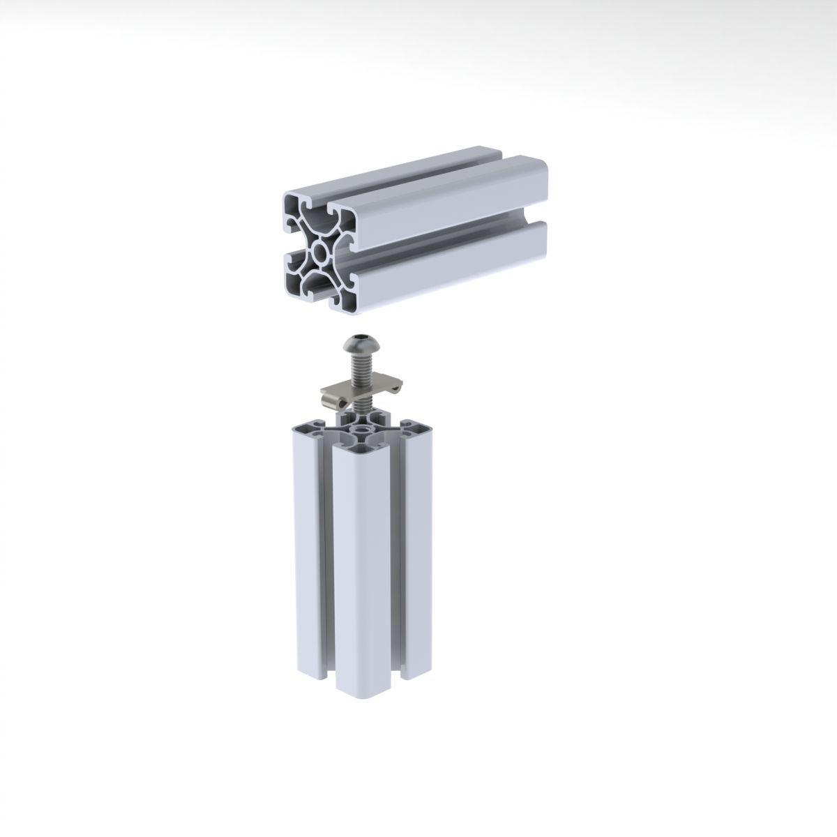 zlacze srubowe do profilu aluminiowego